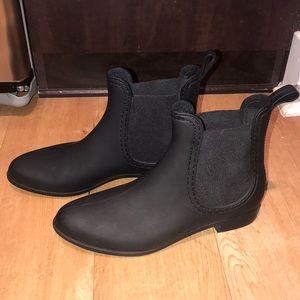 Jeffrey Campbell Havana Matte Black Boots